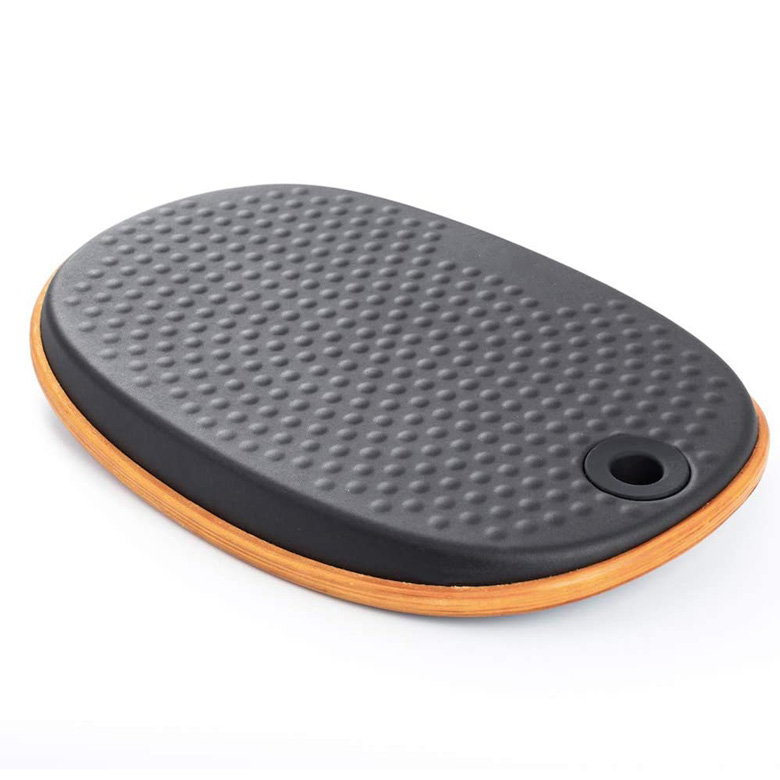 Egg Round Shape Balance Board Wobble Board Anti Fatigue Mat Featured Image