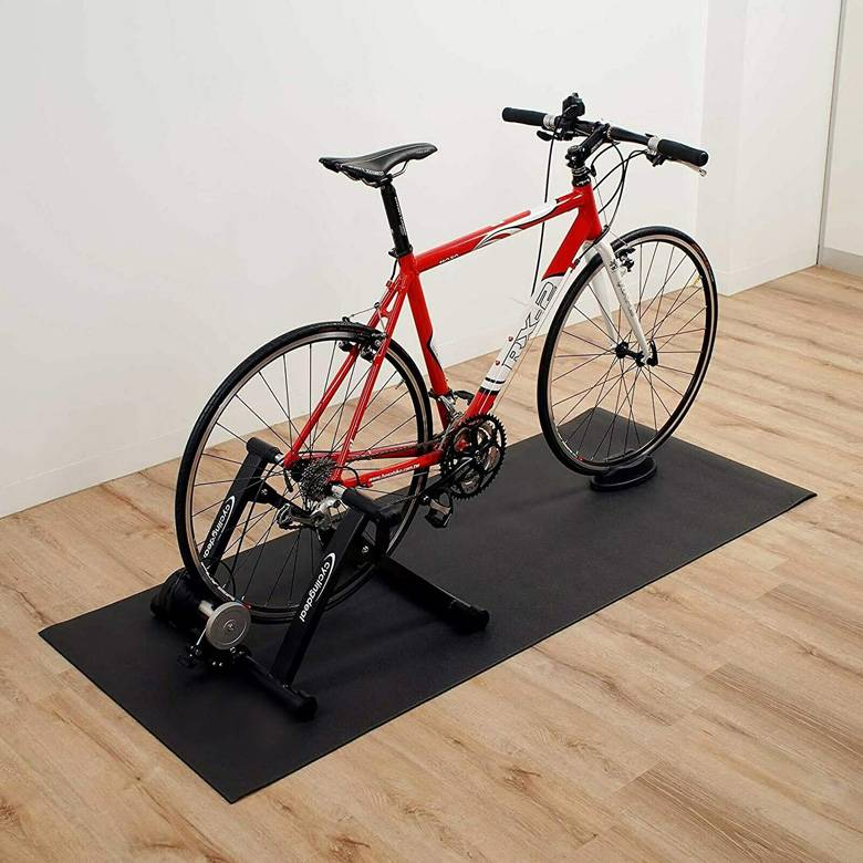 Motorcycle & Bicycle Floor Protect Mats Garage Mats Featured Image
