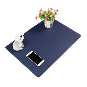 PVC leather smooth computer desk protector mat