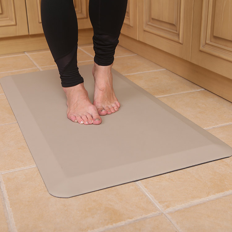 Oem Manufacturer Pu Kitchen Mats - PU foam waterproof anti fatigue comfort mat – Sheep