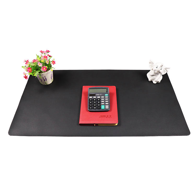Chinese Professional Desk Mat Pad – PVC leather mouse mat for computer – Sheep