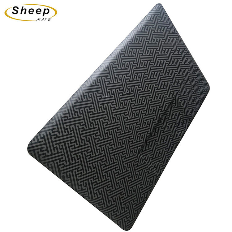 Cheap price Salon Stylist Floor Mat - Rectangle Comfort Barber Shop Beauty Floor Mats – Sheep