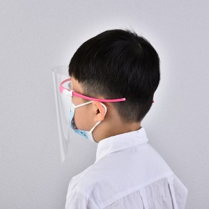 Children's Anti Fog Anti Splash Safety Protector Disposable Protective Cover Eyeglass Face Shield