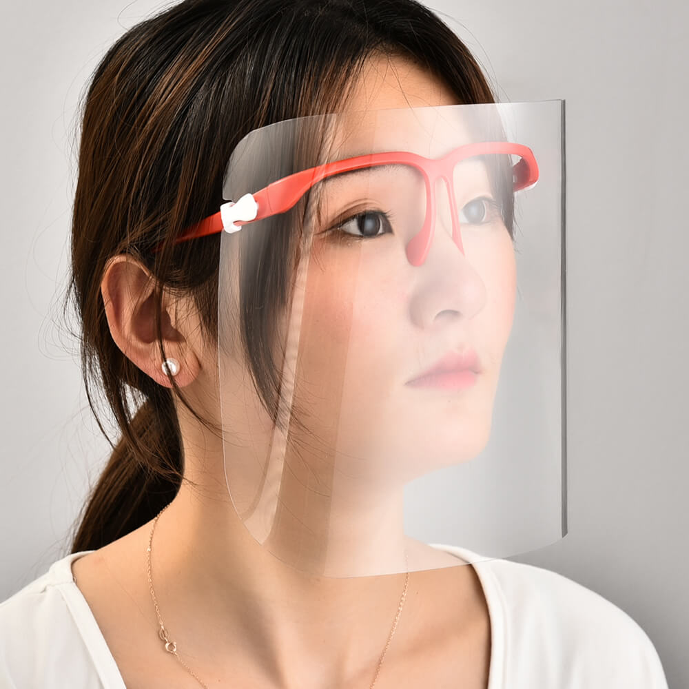 Anti Fog Anti Splash Safety Protector Disposable Protective Cover Eyeglass Face Shield
