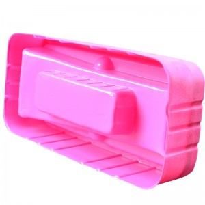 2020 Factory Make PET/PVC Pink Cell Phone Flocking Box Beauty Instrument Packaging Box