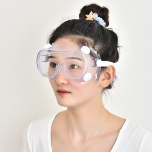Transparent Antifog Goggles Fully Enclosed Protective Glasses  Anti-fog Goggles Eye Protection