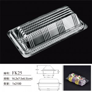 Disposable Transparent Cake Box 4 Inches 6 Inches 8 Inches 10 Inches Transparent PVC Plastic Cake Box