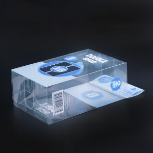 Manufacturers Direct PVC Transparent Packaging Box World Box Printing Daily Necessities Packaging Box Custom Plastic Boxes