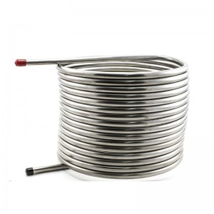 Stainless Steel Coiled Tube