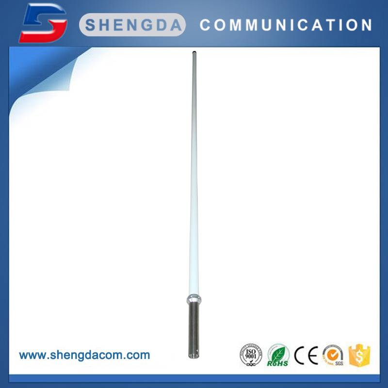 2 meters High gain 400-470MHz vertical omni fiberglass base station antenna