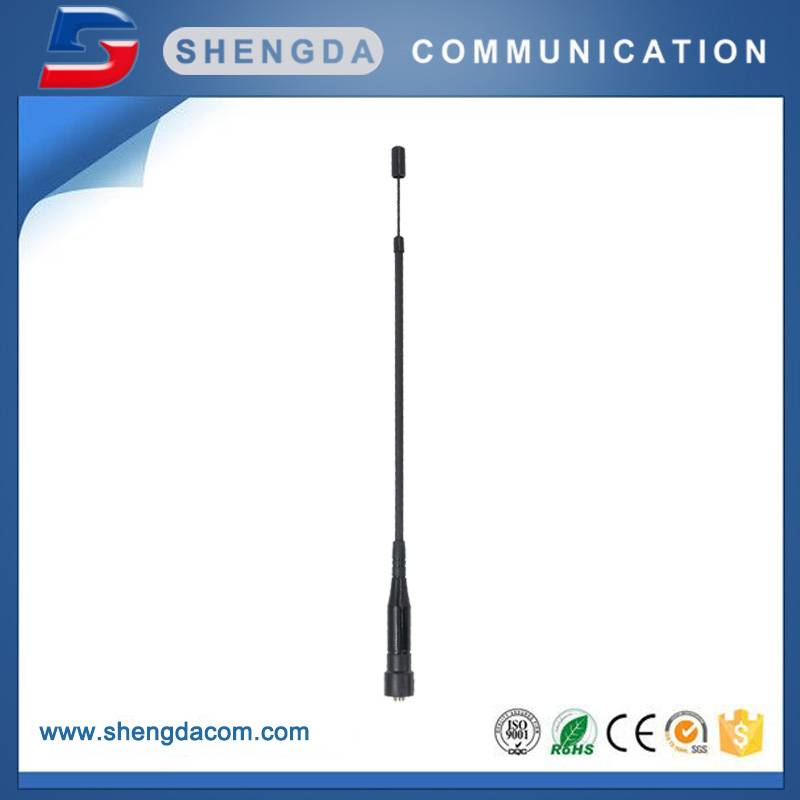 Telescopic Dual Band Antenna 144/430MHz Handheld Antenna SMA-Male Connector Antenna