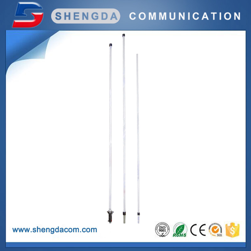5.2M Dual band omni vhf uhf fiberglass fixed base station antenna X510M