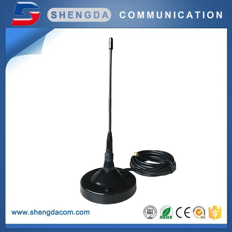 SD868MB93 – Mobile mag mount Dia.90mm with 868MHz rubber antenna