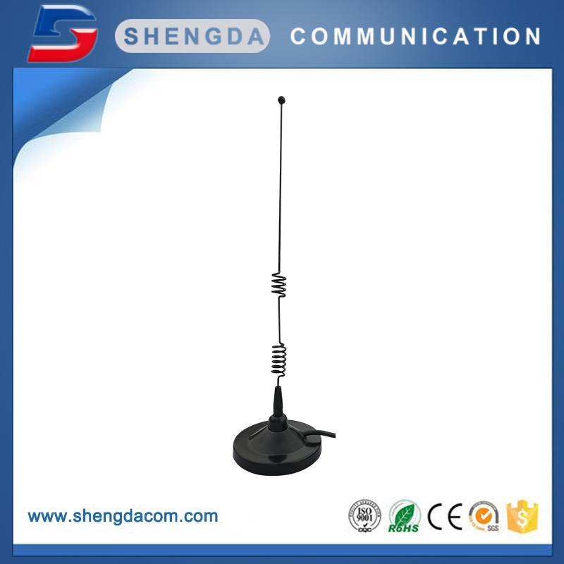 SD-90GSM7 – Dia.90mm mobile mag mount antenna 7dBi 37cm with RG58 cable