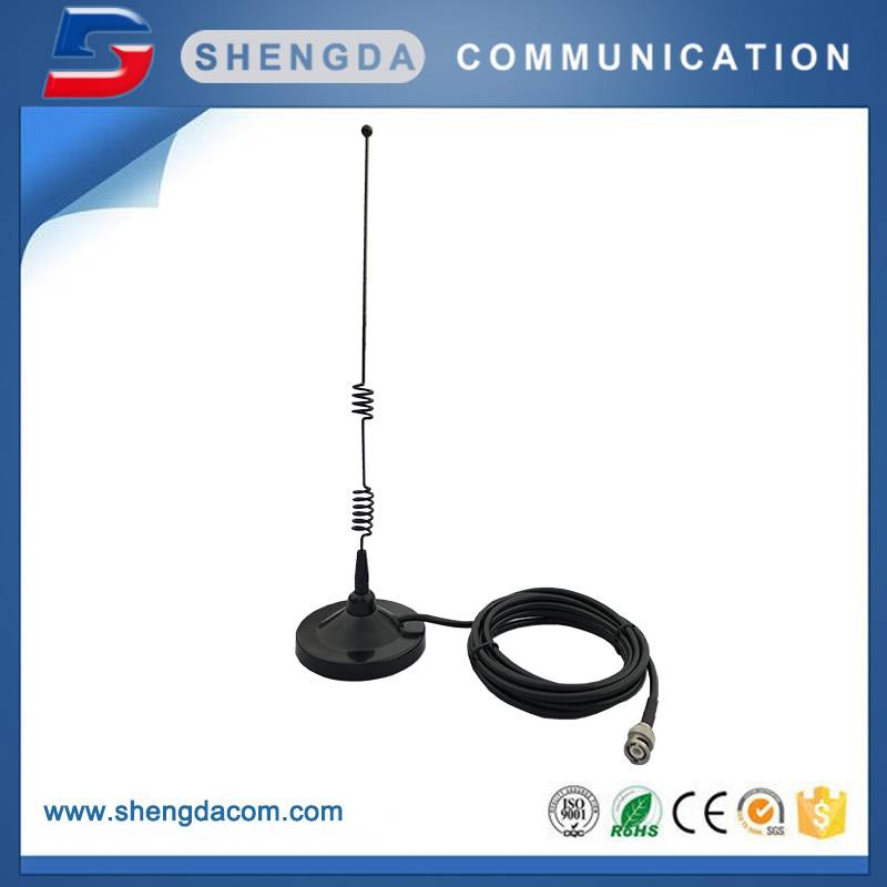 SD90-GSM-7 – GSM dual band 900/1800MHz 7dBi mag mount antenna dia.90mm