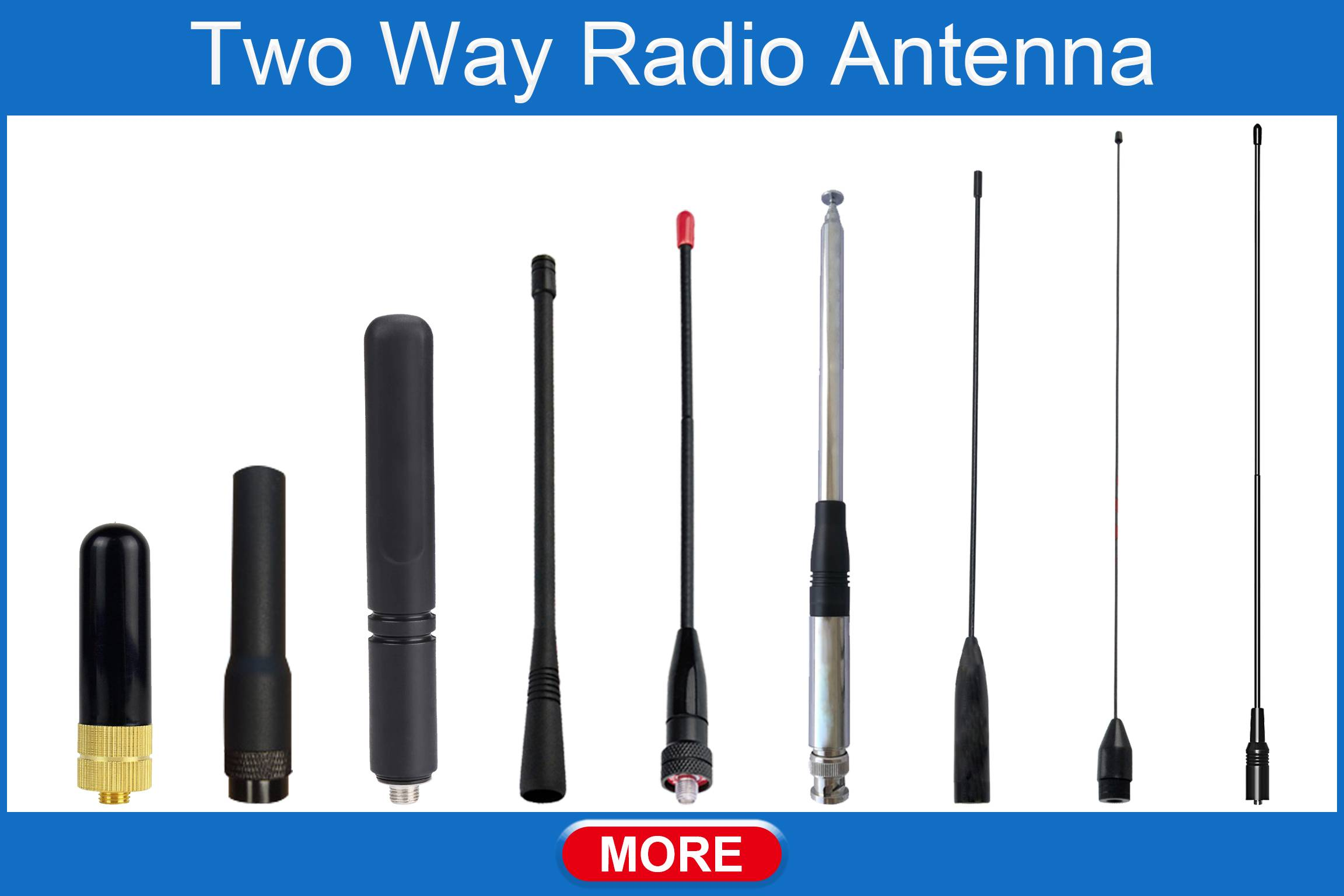 Δύο Way Radio Antenna