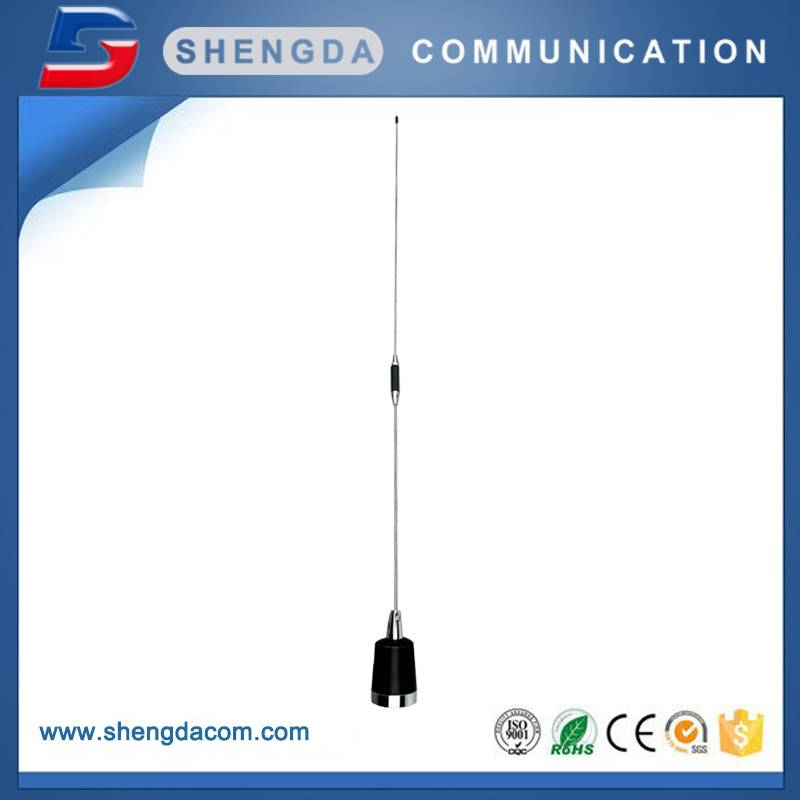 Mobile Antenna 400-520MHz Stainless steel whip antenna for car communication