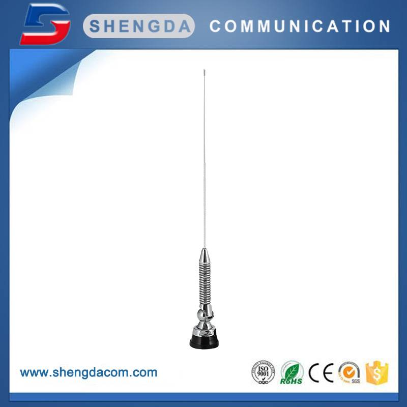 Renewable Design for Walkie-Talkie Antenna -