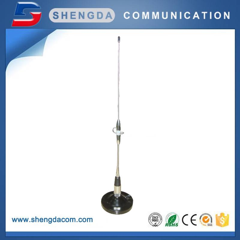 SD73 – Dual Band 144/430MHz mobile radio antenna with Dia.90 mag mount