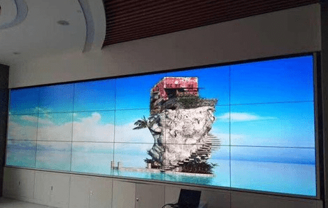 Common LCD splicing large-screen display system applications?