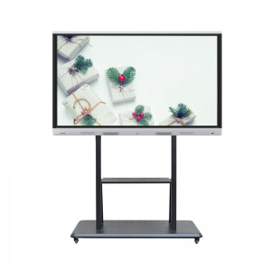 China factory price 84 Inch interactive flat display touch screen PC TV all in one