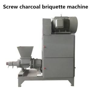 Screw Type Biomass Charcoal Briquette Machine