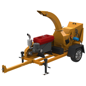S6130 Trailer Wood Chipper