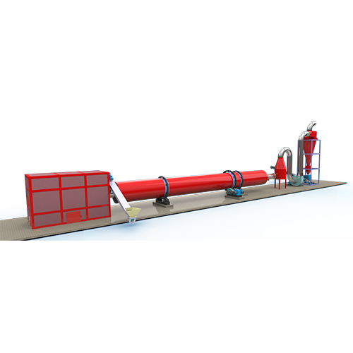 OEM Supply Rotating Drum Dryer -