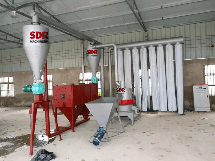 2017 Good Quality Wood Pellet Mill Machine -