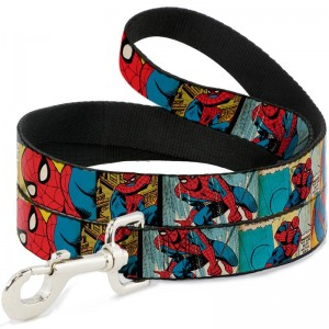 DOG LEASH-SPIDER-MAN COMIC STRIP