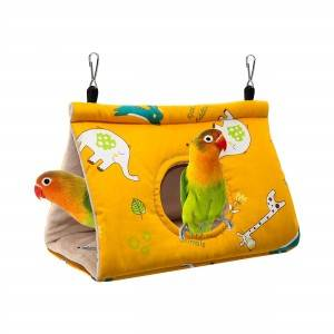 Shinee ECO friendly Cotton Yellow Red and blue Bird nest bed