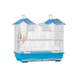 Blue antique breeding parrot bird cage for bird large sale