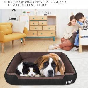 luxury natural memory foam dog pet supplies bed for bedding pet