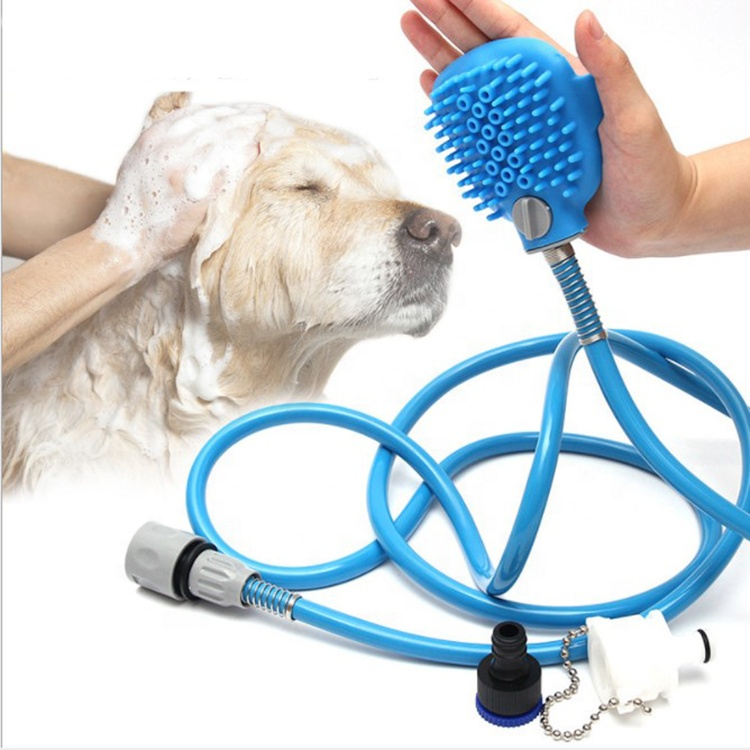 Dog Bathing Tool Pet Shower Sprayer Pet Shower Hose Portable Dog Sprayer For Dog Cat Horse Cleaning And Massaging