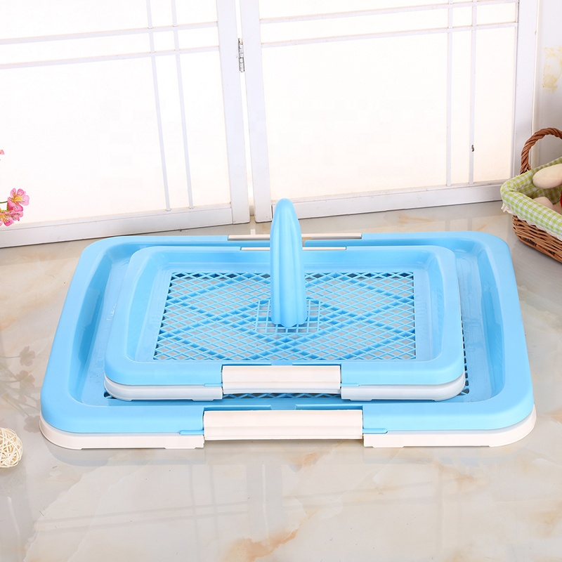 China OEM Large Dog Bed - Portable Potty Trainer Protect Floor Litter Training Pad Tray Dog Toilet Artificial Grass Pet Dog Cat Mesh Potty Pad – J & E