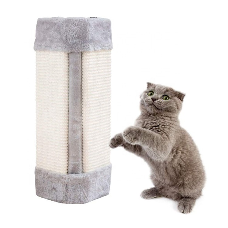 Door Wall Protecting Corner Sisal Cat Scratching Mat Wall Mounted Cat Tree Scratching Post