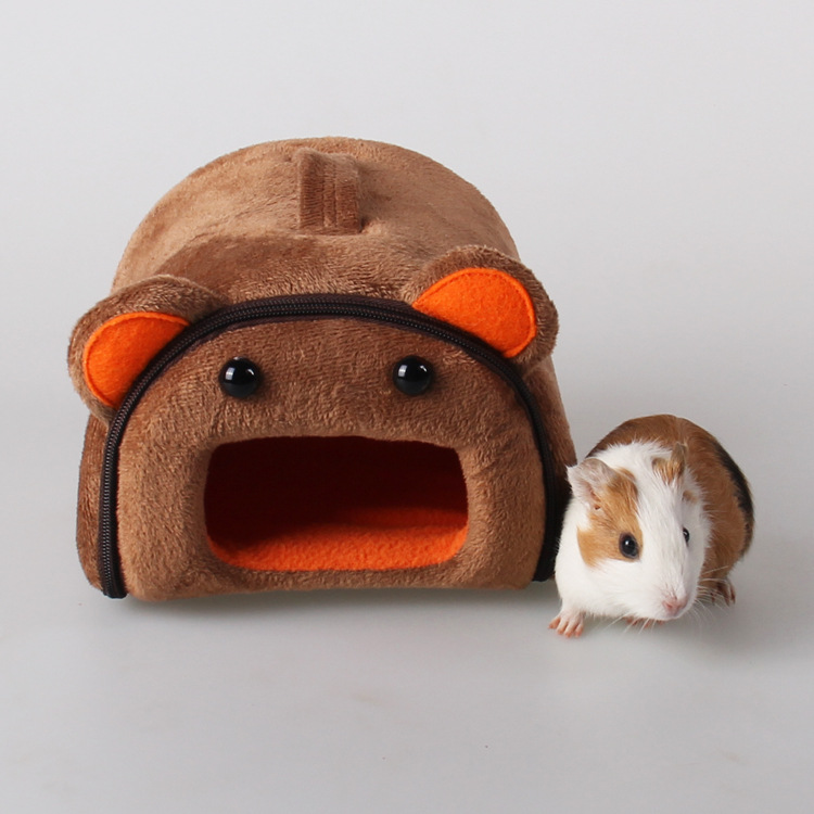 Small pet supplies autumn winter warm slippers nest hamster sleeping bag jinsi bear hedgehog winter cotton nest