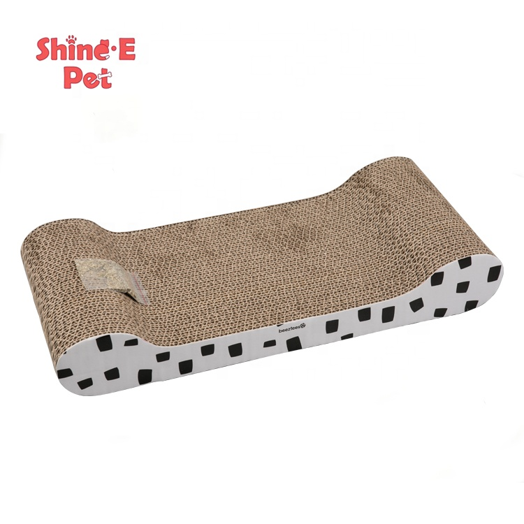 Cat Products Ko te Original Floor Whakakapinga Cat Scratch Pads kowakawaka Cat Scratch Lounge Bed Ki Catnip