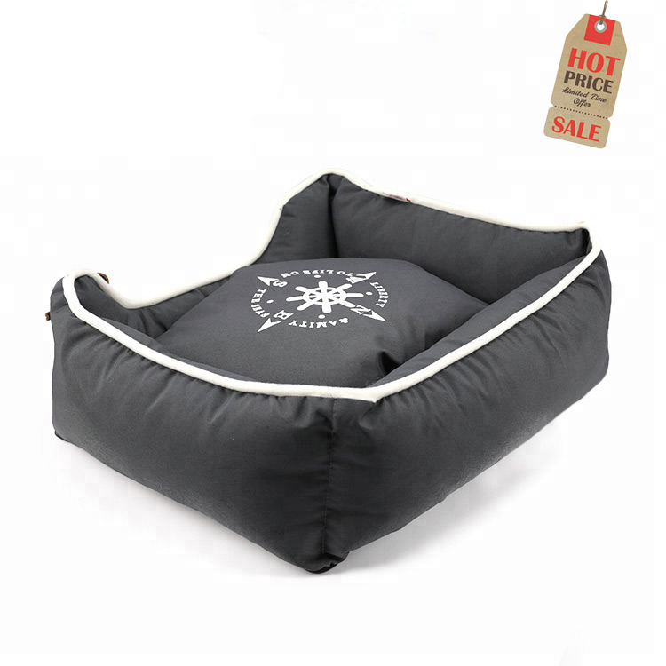 L Size Factory Sale Various Plush Puppy Warm Cozy Small Animal Bed,Dog Beds Washable