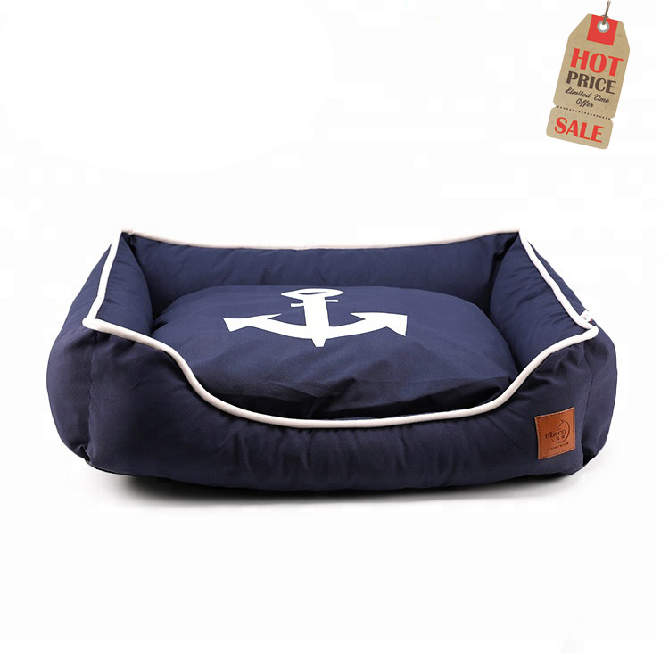 L Size Custom Supplies Canvas Luxury lucky Pet Bed For Dog
