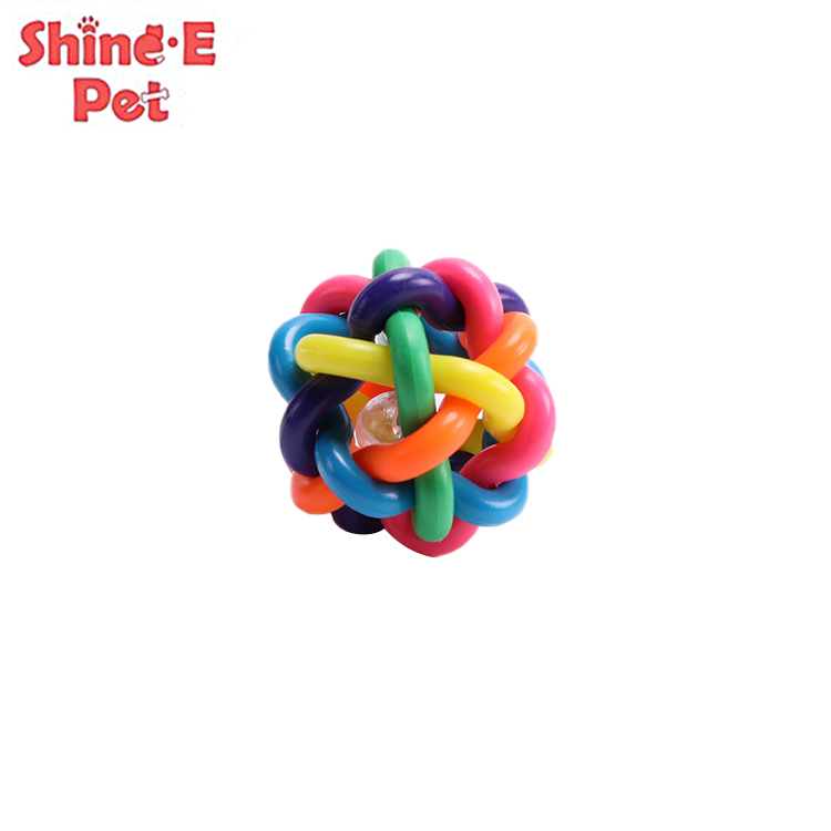 factory customized Dog Toys Natural - Let's Pet Squeaky Puppy Chew Toys Soft Stab Balls – J & E