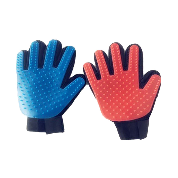 China wholesale Pet Cleaning & Grooming Products - Pet grooming dog hair remover brush glove – J & E