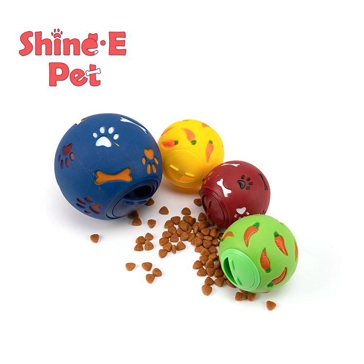 Manufacturing Companies for Pet Plush Toy - Wholesale pet dog feeding toy food ball with feeding training – J & E