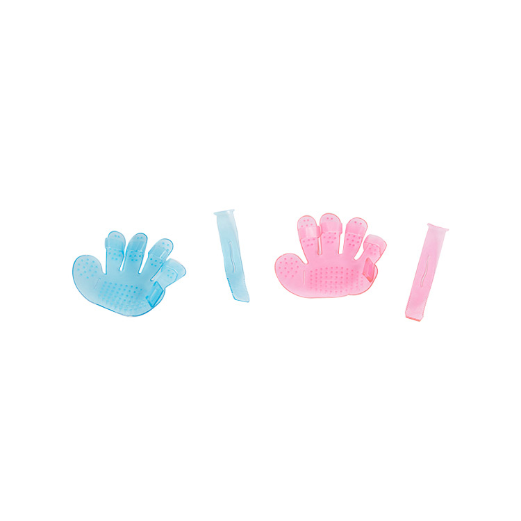 2019 wholesale price Grooming Glove - Pet hair massage brush gloves cat dog bath cleaning five finger gloves – J & E
