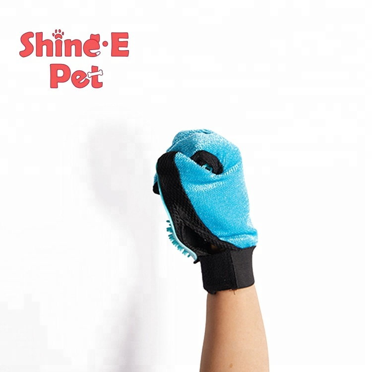 New Best Selling Pet Grooming  pet shedding glove