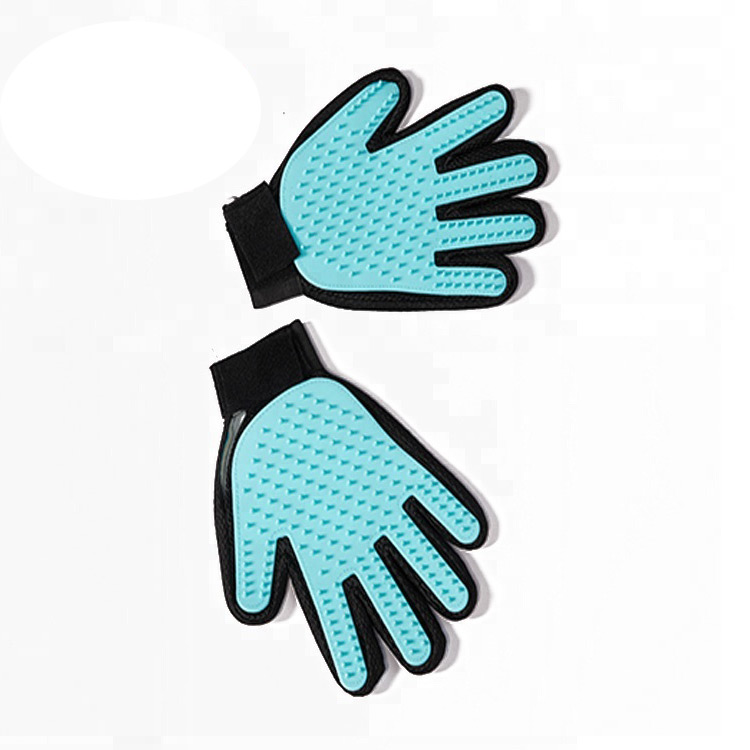OEM/ODM China Master Grooming Tools - Five Finger Magic Silicone Massage Cleaning pet hair glove – J & E
