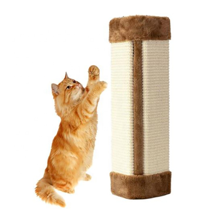 Factory Cheap Cat Toy Mouse - Furniture Protector Pet Cat Scratching Board Pad Hanging Sisal Scratcher Cat Wall Mounted Scratching Post – J & E