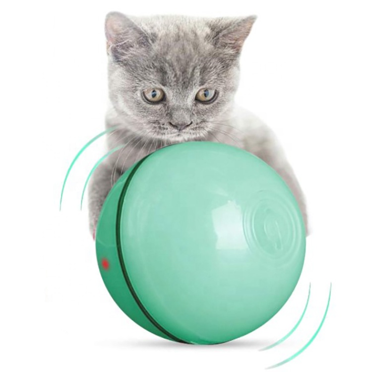 Chinese wholesale Large Dog Cage - Smart Interactive Cat Toys Ball Automatic Rolling Ball USB Rechargeable LED Light Interactive Cat Toys – J & E
