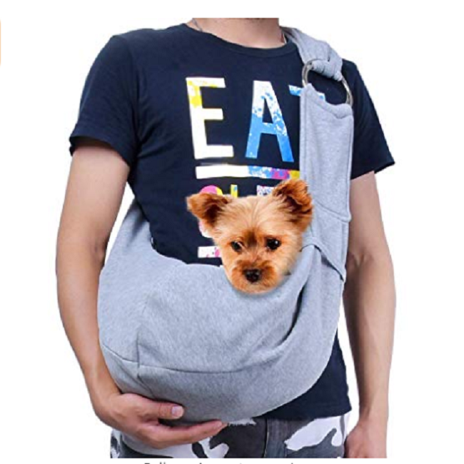Hands Free Pet Puppy Outdoor  Dog Cat Travel Carrier Sling  Bag Tote