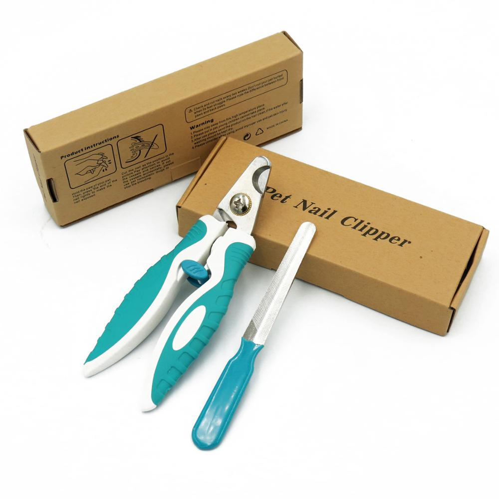 OEM pet cat dog nail paw claw clippers trimmer scissors cutter kit with cheap price in stock
